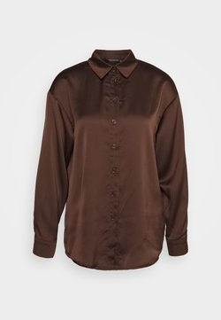 Trendyol - KAHVERENGI - Skjorta - brown