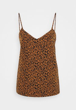 Scotch & Soda - TANK - Top - brown/black