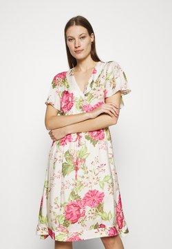 Mos Mosh - TACY ROSE DRESS - Freizeitkleid - ecru