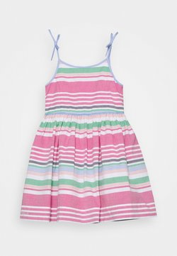 Polo Ralph Lauren - OXFORD STRIPE DRESSES - Freizeitkleid - pink multi