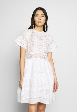 By Malina - FELICE DRESS - Korte jurk - white