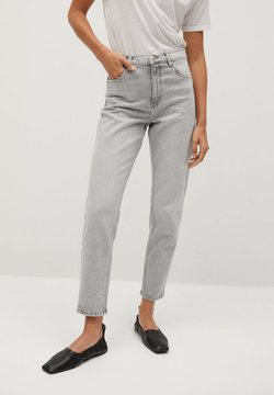 Mango - NEWMOM - Straight leg jeans - denim grau