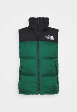 The North Face - RETRO NUPTSE VEST UNISEX - Weste - evergreen