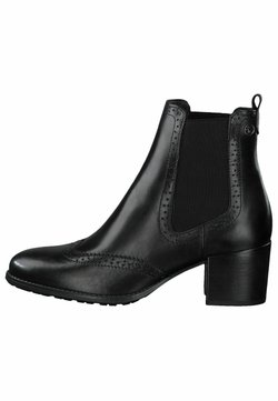 Tamaris - CHELSEA - Stiefelette - black leather