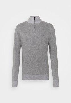 Calvin Klein - Stickad tröja - mid grey heather