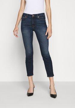 7 for all mankind - ROXANNE ANKLE - Straight leg jeans - dark blue