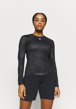 ODLO - CREW NECK ZEROWEIGHT - Funktionsshirt - black