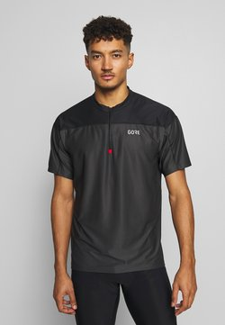 Gore Wear - ZIP - T-Shirt print - terra grey/black