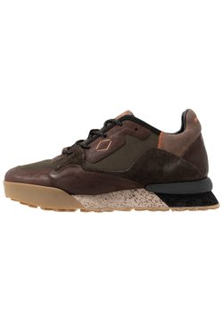 Replay - SANDOVAL - Sneaker low - green/dark brown