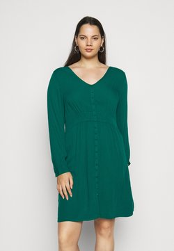 JUNAROSE - by VERO MODA - FULO ABOVE KNEE DRESS  - Blusenkleid - sea moss