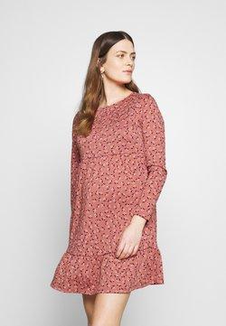 Cotton On - BABYDOLL MINI DRESS - Trikoomekko - aidan faded rose
