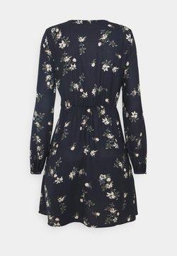 Vero Moda - VMFALLIE TIE DRESS - Blusenkleid - navy