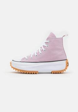 Converse - RUN STAR HIKE RECYCLED UNISEX - Sneakers high - himalayan salt/white/black