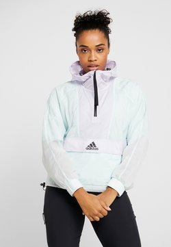 adidas Performance - CROPPED WIND.RDY  - Veste coupe-vent - mint