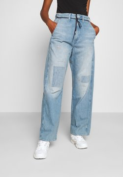 G-Star - LINTELL HIGH DAD  - Jeans Relaxed Fit - vintage marine blue restored
