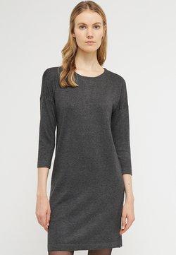 Vero Moda - VMGLORY VIPE AURA DRESS - Vestido de punto - dark grey melange