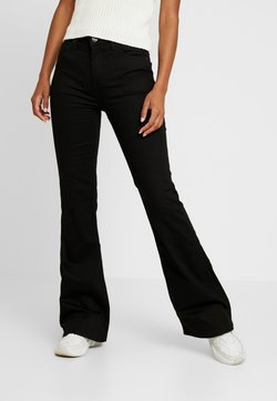 Lee - BREESE - Flared Jeans - black rinse