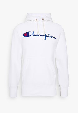 Champion Reverse Weave - HOODED - Hoodie - white