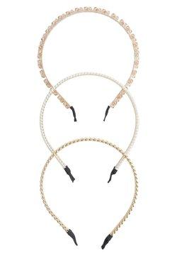 Stradivarius - 3 PACK - Haar-Styling-Accessoires - gold