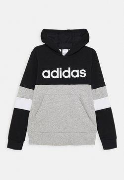 adidas Performance - Luvtröja - black/medium grey heather/white