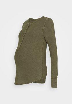 GAP Maternity - RELAX - Langarmshirt - ripe olive