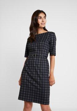 Esprit Collection - BELT DRESS - Etuikleid - black