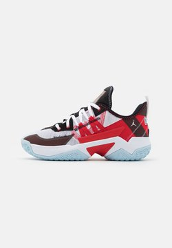 Jordan - ONE TAKE II UNISEX - Zapatillas de baloncesto - white/university red/black/ice