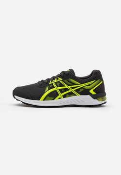 ASICS - GEL-SILEO 2 - Zapatillas de running neutras - graphite grey/safety yellow