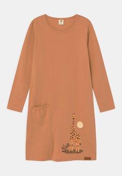Walkiddy - GIRAFFE - Jerseykleid - camel