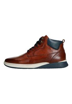 Manfield - Sneaker high - cognac