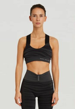 Yogasearcher - LAKSHMI - Sport-BH mit mittlerer Stützkraft - black