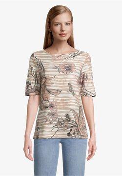 Betty Barclay - T-Shirt print - camel/rosé