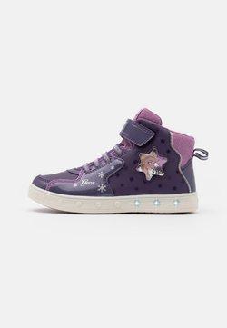 Geox - DISNEY FROZEN SKYLIN GIRL  - Sneakers alte - dark violet/mauve
