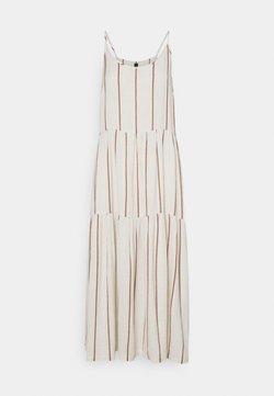 YAS Tall - YASTRIMLA STRAP DRESS - Freizeitkleid - tapioca
