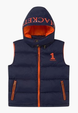 Hackett London - HOODED GILET - Smanicato - navy