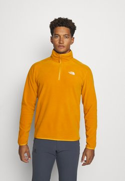 The North Face - GLACIER 1/4 ZIP - Fleecepullover - citrine yellow