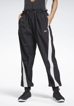Reebok - STUDIO HIGH INTENSITY PANTS - Jogginghose - black