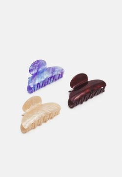 ONLY - ONLCLARA HAIR CLIP 3 PACK - Haaraccessoire - surf the web/nude/pote