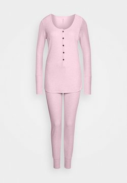 Cotton On Body - HENLEY LONG JOHN - Nachtwäsche Set - crystal pinkmarle