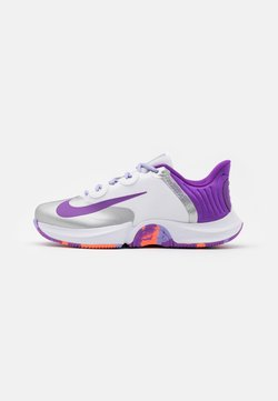 Nike Performance - COURT AIR ZOOM TURBO - All court tennisskor - white/wild berry/bright mango