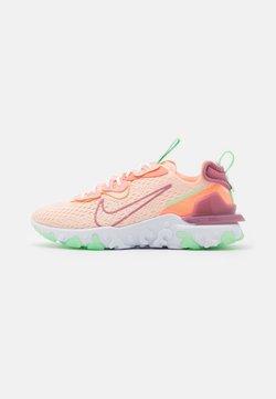 Nike Sportswear - REACT VISION - Sneaker low - crimson tint/desert berry/atomic pink/cucumber calm/white