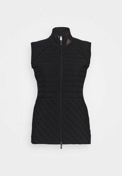 adidas Golf - PERFORMANCE SPORTS GOLF FILLED VEST - Liivi - black