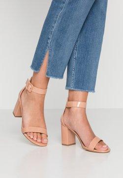 Glamorous Wide Fit - Sandalen met hoge hak - nude