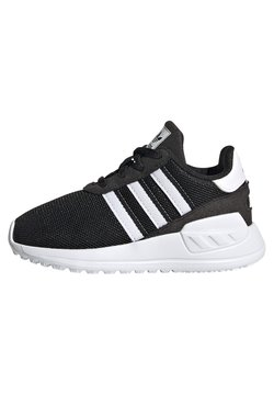 adidas Originals - LA TRAINER LITE SHOES - Matalavartiset tennarit - core black/ftwr white/core black