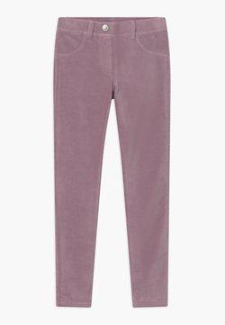 Benetton - BASIC GIRL - Stoffhose - purple