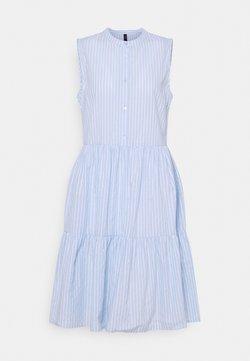 YAS Tall - YASSTRILLA SHORT DRESS  - Blusenkleid - cashmere blue