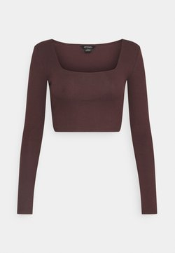 Monki - ALBA  - Longsleeve - dark purple