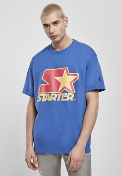Starter - T-shirt print - blue/red/yellow