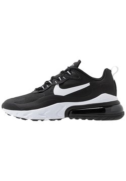 Nike Sportswear - AIR MAX  REACT - Sneakers laag - black/white
