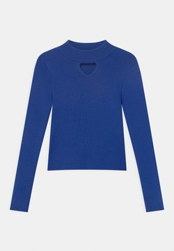 TWINSET - LUPETTO - Strickpullover - surf